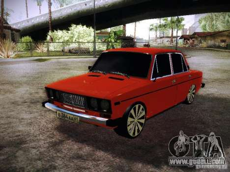 Vaz 2106 Fanta for GTA San Andreas