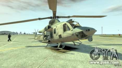 Bell UH-1Y Venom for GTA 4