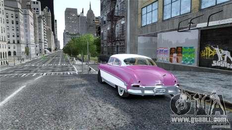 Hudson Hornet Coupe 1952 for GTA 4 left view