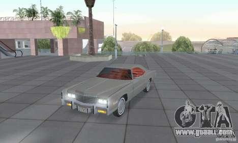 Cadillac Eldorado Convertible 1976 for GTA San Andreas
