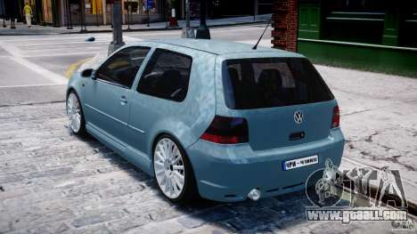 Volkswagen Golf IV R32 for GTA 4 right view