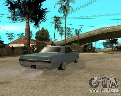 PONTIAC GTO 65 for GTA San Andreas back left view