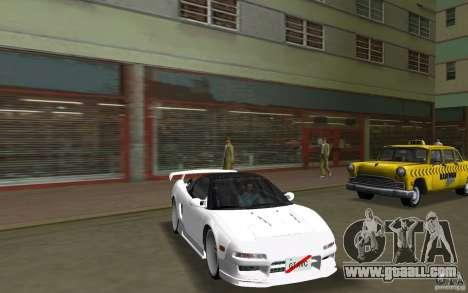 Honda NSX 1991 for GTA Vice City right view