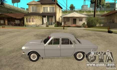 GAZ Volga 24 for GTA San Andreas left view