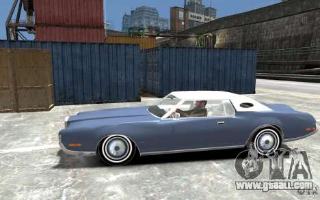 Lincoln Continental Mark IV 1972 for GTA 4 left view