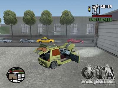 1111 OKA (tuning) for GTA San Andreas right view