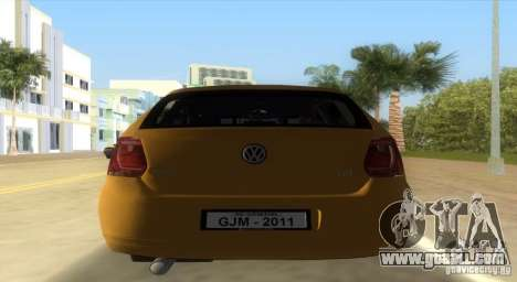 Volkswagen Polo 2011 for GTA Vice City left view