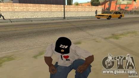 Cap 228 for GTA San Andreas