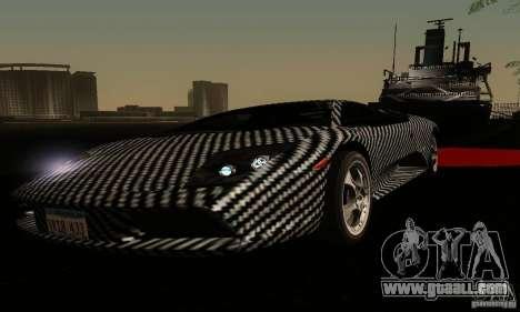Lamborghini Murcielago for GTA San Andreas upper view