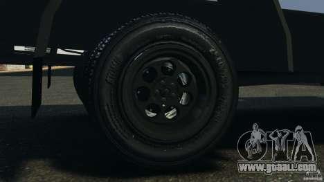 Chevrolet Yankee v1.0 [Beta] for GTA 4 inner view