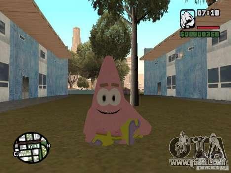 Patrick for GTA San Andreas sixth screenshot