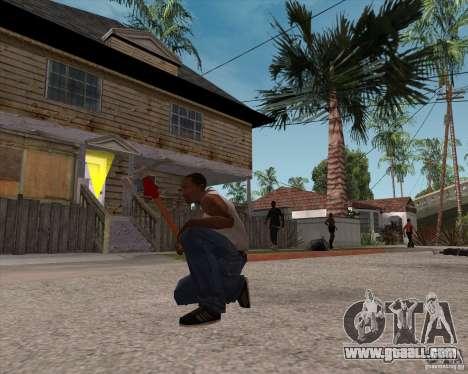 Hammer of Assassins Creed Brotherhood for GTA San Andreas third screenshot