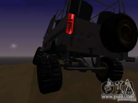 Luaz 969 Offroad for GTA San Andreas inner view
