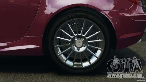 Mercedes-Benz SLK 55 AMG 2010 for GTA 4 side view