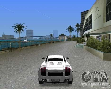 Lamborghini Gallardo for GTA Vice City left view