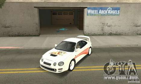 Toyota Celica GT-Four v1.1  1994 for GTA San Andreas side view