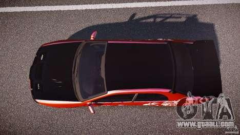 Subaru Impreza WRX STI for GTA 4 right view