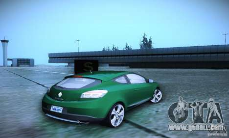 Renault Megane Coupe for GTA San Andreas back left view
