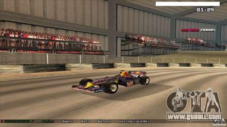 Ferrari F1 RedBull for GTA San Andreas
