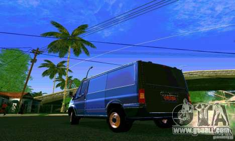 Ford Transit SWB 2011 for GTA San Andreas left view