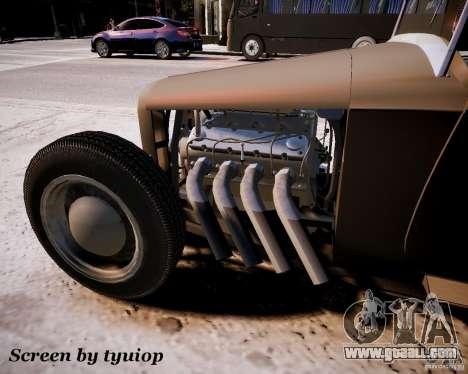 Roadster High Boy for GTA 4 back left view
