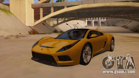 Saleen S5S Raptor 2010 for GTA San Andreas