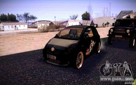 Toyota Yaris for GTA San Andreas