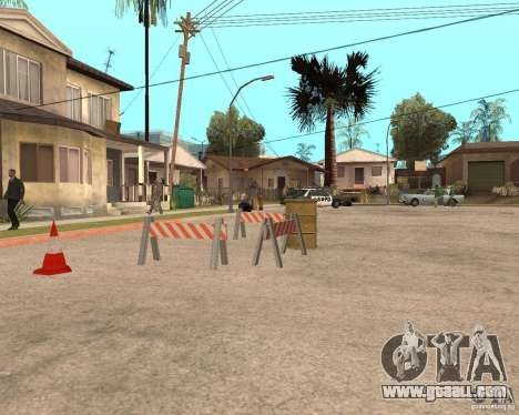 Remapping Ghetto v.1.0 for GTA San Andreas second screenshot