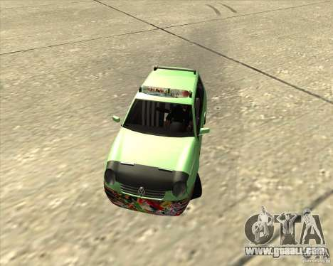 Volkswagen Lupo Hellaflush for GTA San Andreas left view