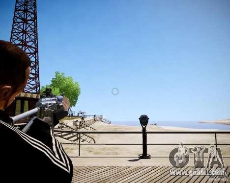 AKS-74U for GTA 4 forth screenshot