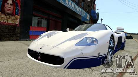 Maserati MC12 for GTA 4 back left view