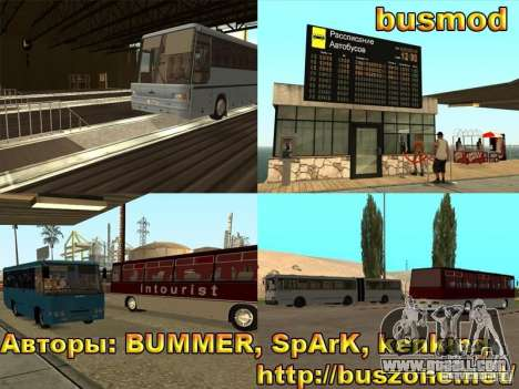 BUSmod for GTA San Andreas