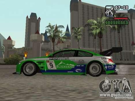 Alpina B6 GT3 for GTA San Andreas left view