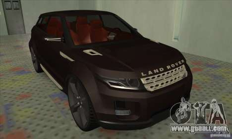 Land Rover LRX for GTA San Andreas left view