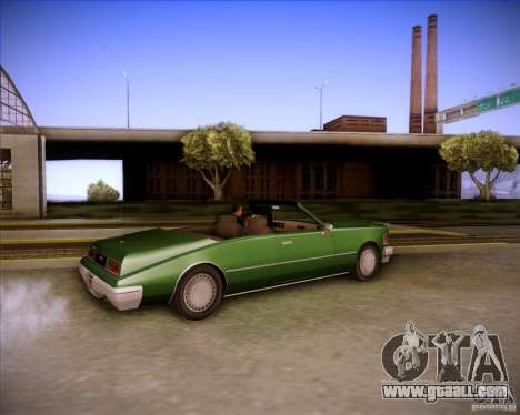 HD Idaho for GTA San Andreas side view