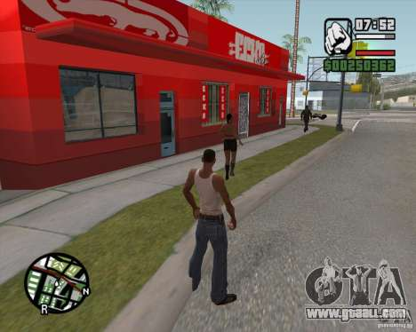 Shop Ecko for GTA San Andreas third screenshot