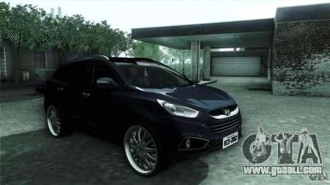 Hyundai iX35 Edit RC3D for GTA San Andreas back view