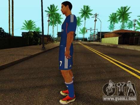 Cristiano Ronaldo v2 for GTA San Andreas third screenshot