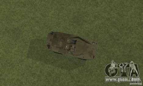BRDM-1 Skin 3 for GTA San Andreas back view