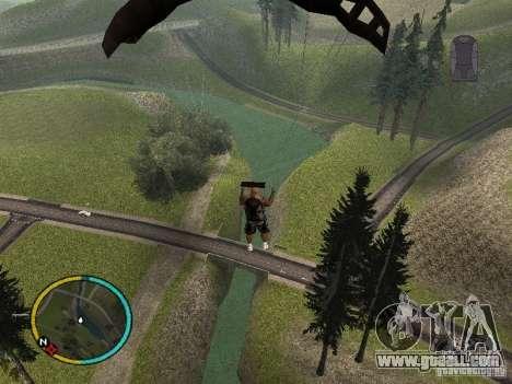 GTA IV HUD v2 by shama123 for GTA San Andreas forth screenshot