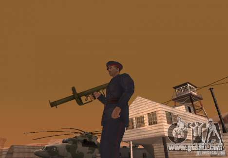 Panzerschreck for GTA San Andreas second screenshot