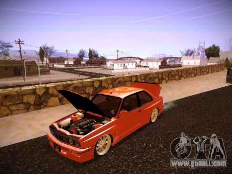 BMW M3 E30 for GTA San Andreas side view