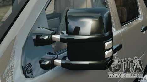 Chevrolet Suburban GMT900 2008 v1.0 for GTA 4 bottom view