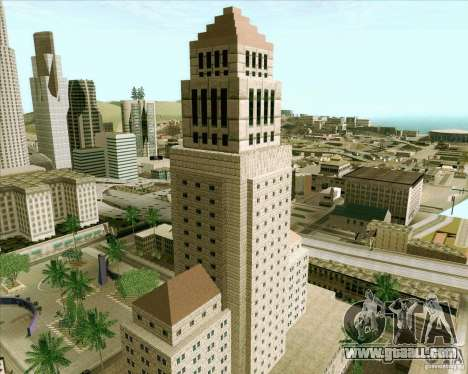 Los Santos City Hall for GTA San Andreas fifth screenshot