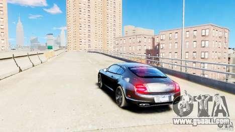 Bentley Continental SuperSports v2.5 for GTA 4 back left view