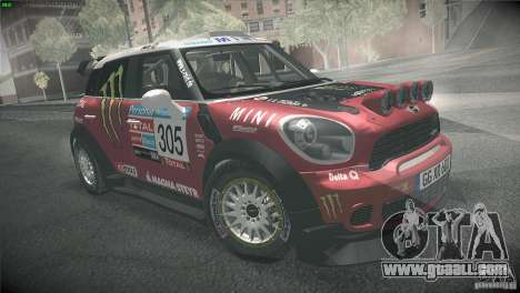 Mini Countryman WRC for GTA San Andreas right view