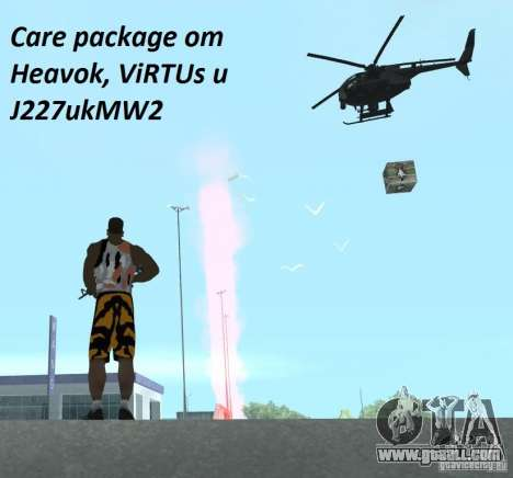 Care Package from MW2 for GTA San Andreas