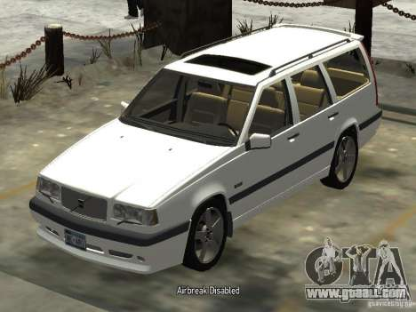 Volvo 850 R 1996 Rims 2 for GTA 4