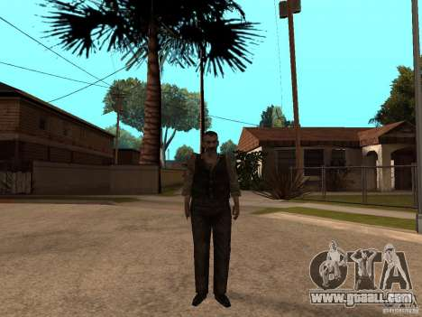 Updated Pak characters from Resident Evil 4 for GTA San Andreas fifth screenshot