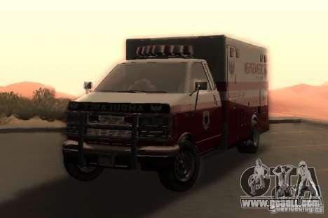 Ambulance from GTA 4 for GTA San Andreas